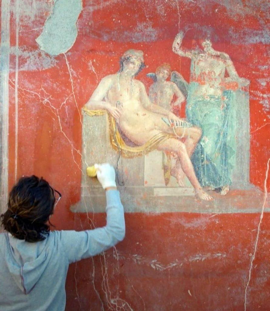 Gabriel Zuchtriegel - Pompei e un affresco da restaurare