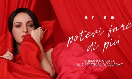 Arisa lucana - copertina di San Remo