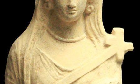 Il santuario di Demetra - Demetra in bassorilievo