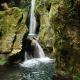 Le Cascate del Tuorno - La cascata da vicino