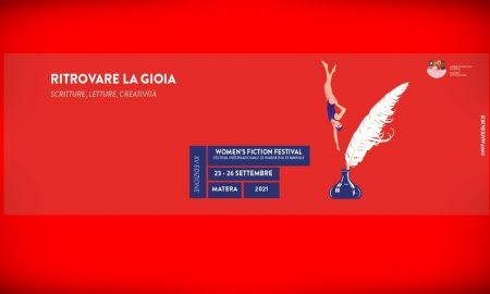 Women's Fiction Festival - Locandina del festival aMatera