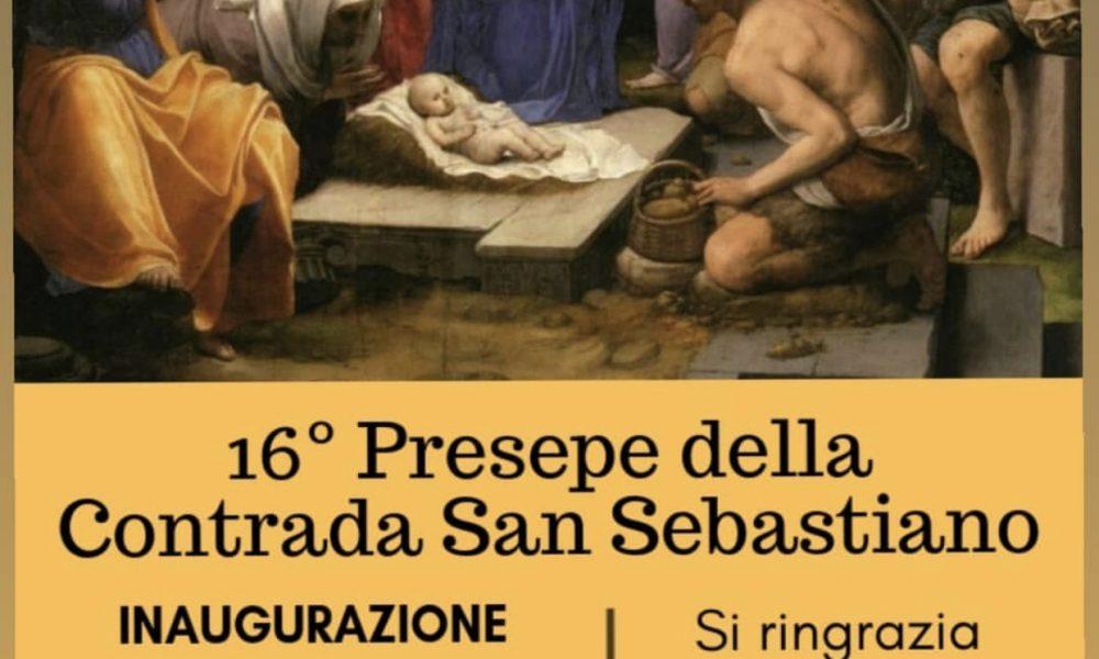 Presepe della Contrada San Sebastiano.