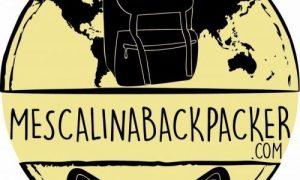 Mescalinabackpacker logo della radio