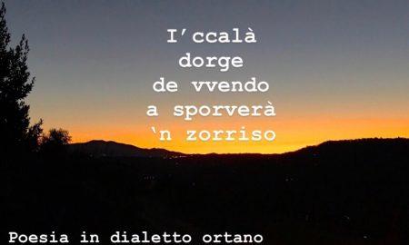 Poesia In dialetto Ortano
