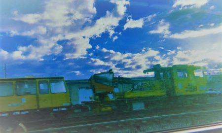 Viaggiando sul treno