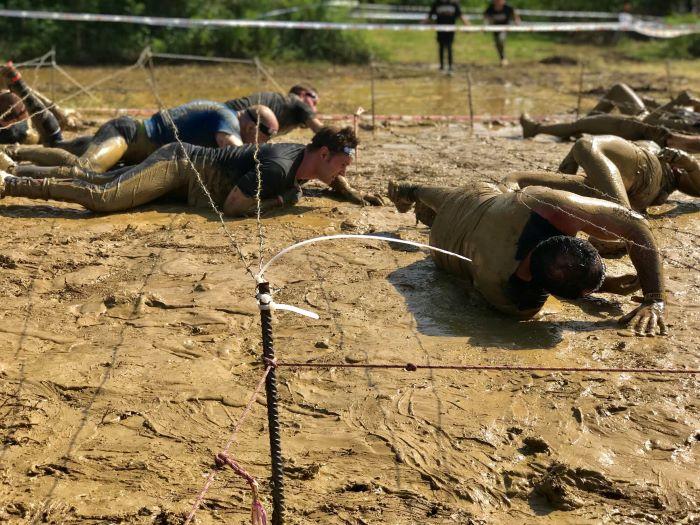 Quinta edizione dello Spartan Race. Percorso nel fango