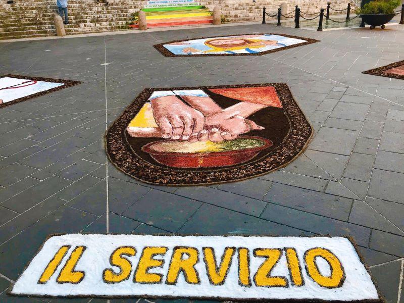 Corpus Domini. Il Servizio