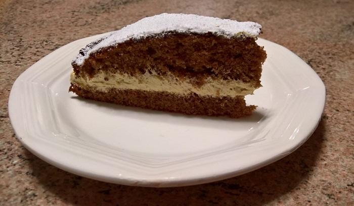 torta riccio di caffè
