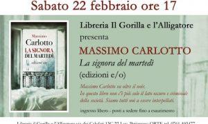 Massimo Carlotto a Orte