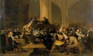 Inquisizione in un celebre dipinto di Goya