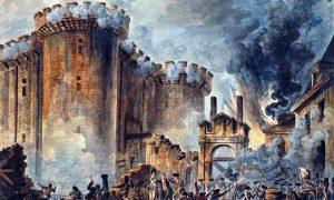 La presa della Bastiglia, evento alla radice dell occupazione francese