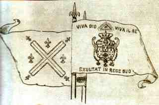 Bandiera dei Sanfedisti
