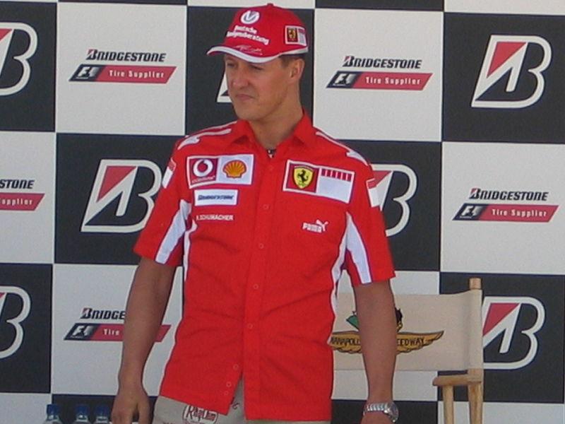 Il grande Schumacher: tra i protagonisti dell'autodromo di ortona