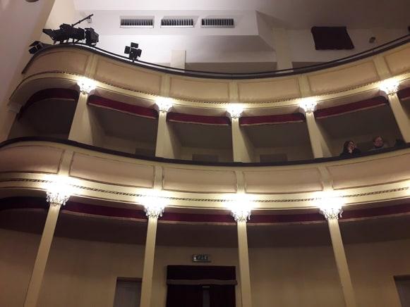 Teatro Ortona - Interno del teatro