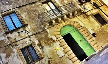 Palazzo Corvo La parte anteriore