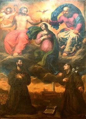 Chiesa della Santissima Trinità di Ortona - Incoronazione Della Vergine