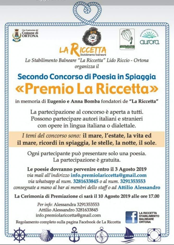 Premio La Riccetta Locandina
