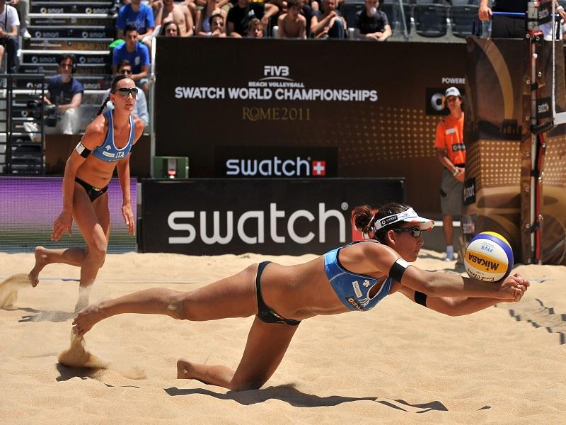 Ortona Sport Challenge - ragazze che giocano a beach volley