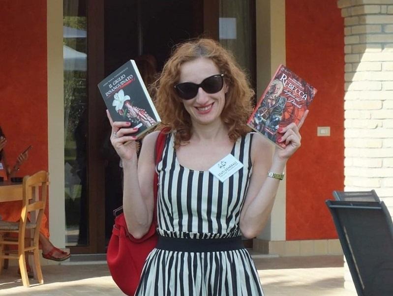 Anna Maria Pierdomenico con i suoi Books
