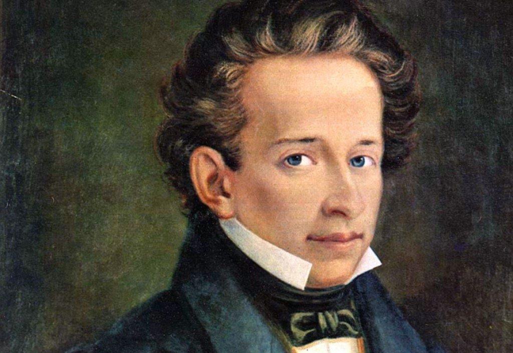 Un ritratto di Giacomo Leopardi protagonista delle Giornate Fai d'Autunno
