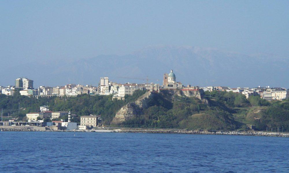 Panorama vista mare di Ortona