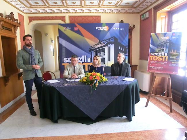 conferenza stampa della stagione di prosa del Teatro Tosti di Ortona