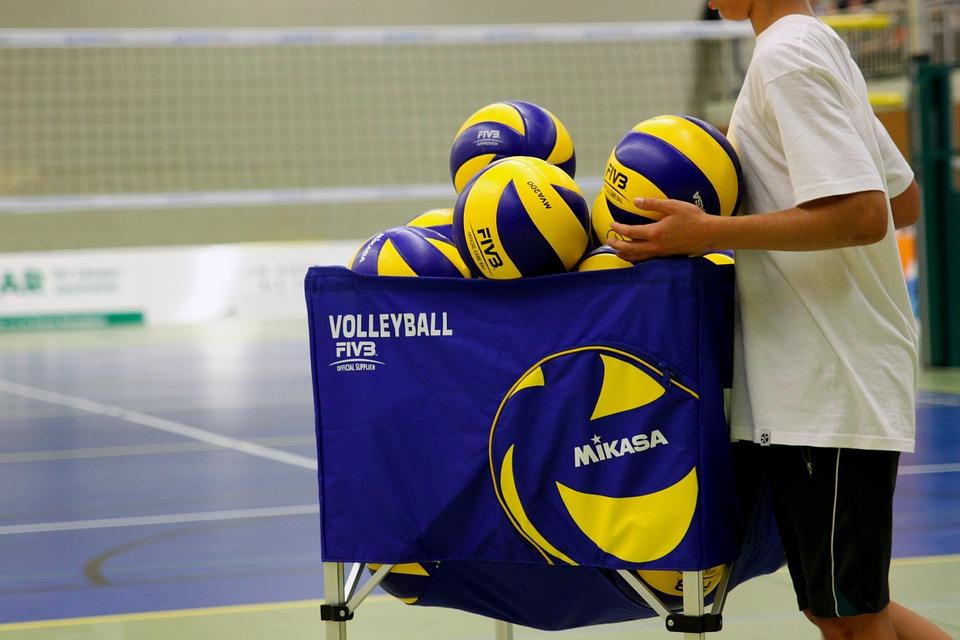 Le palle usate durante le partite di A2 Maschile