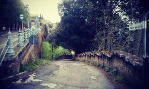 Leggenda del salto del Livio - Strada