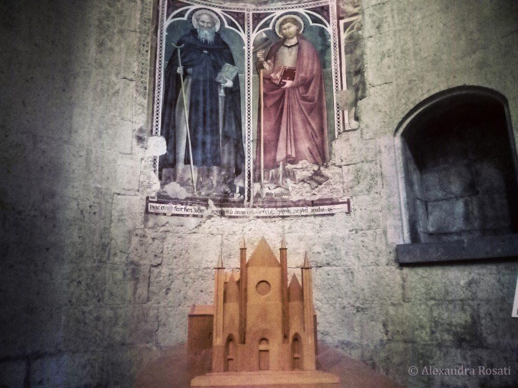 La magica Orvieto - Affresco nel Duomo