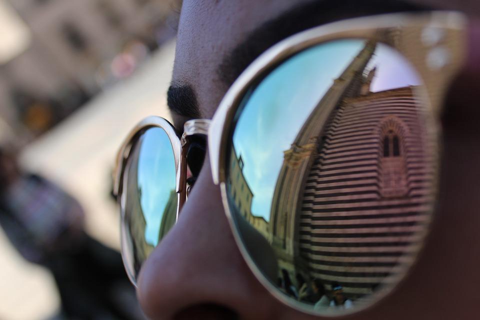 La magica Orvieto - Il Duomo riflesso in una lente