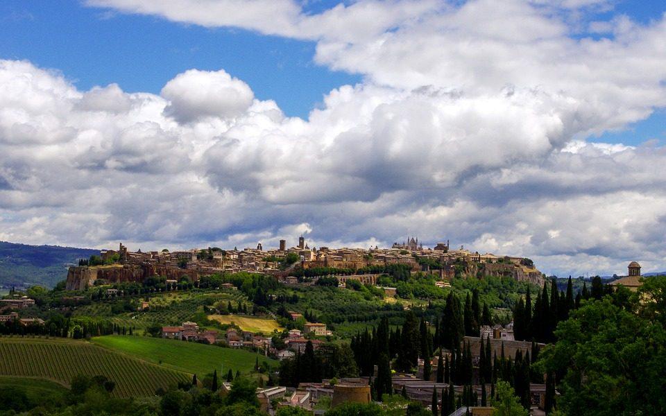 La magica Orvieto - Panoramica di Valter Cirillo