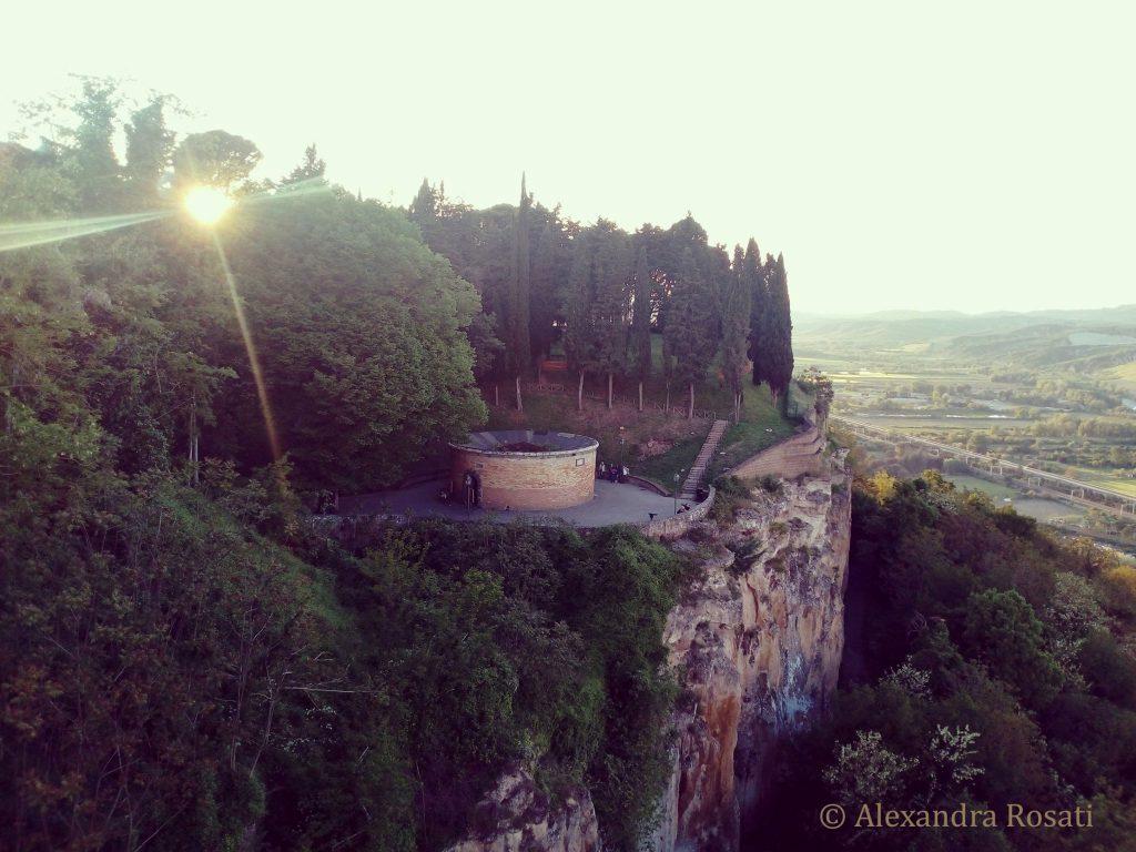 Il Pozzo di San Patrizio - vista dall'alto