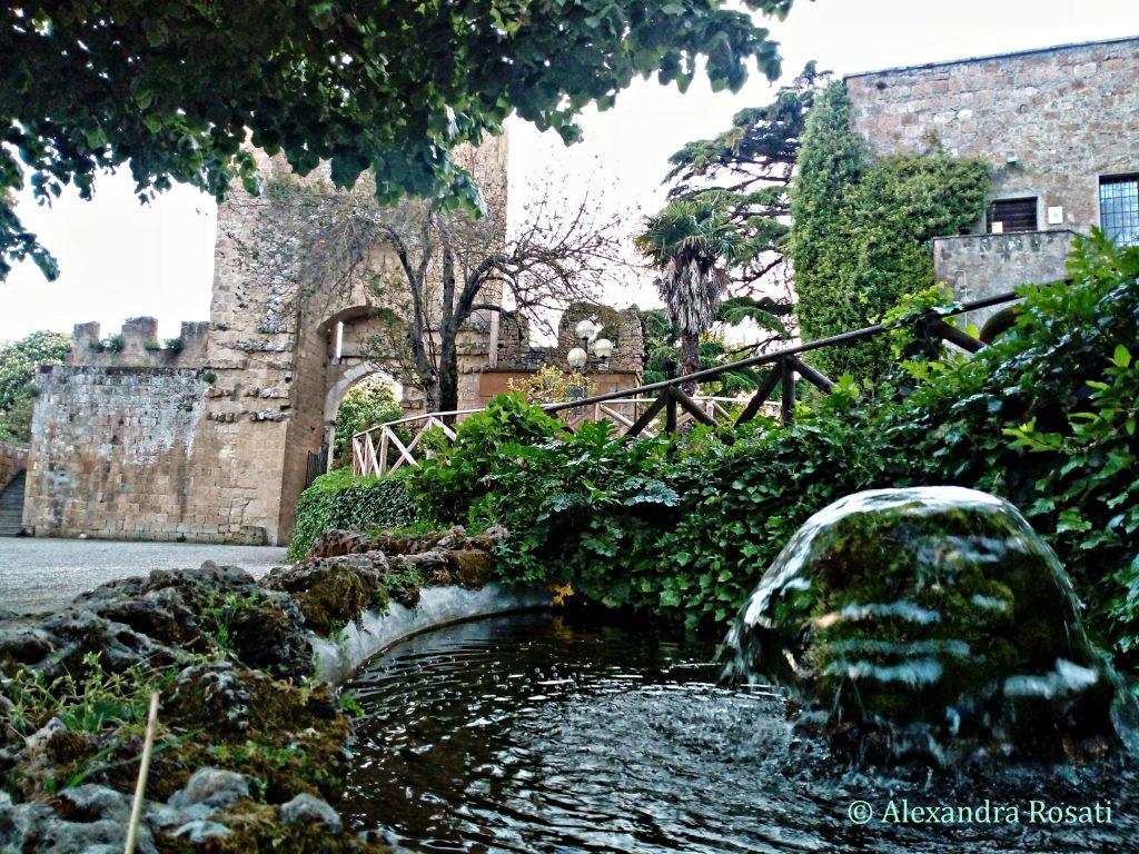 Fortezza Albornoz - Fontana