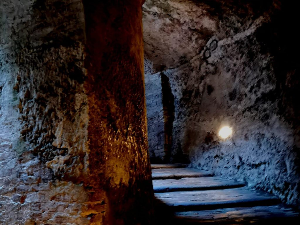 Pozzo di San Patrizio - Scalinata