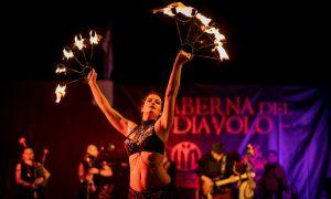 I Ludi alla Fortezza - danza col fuoco
