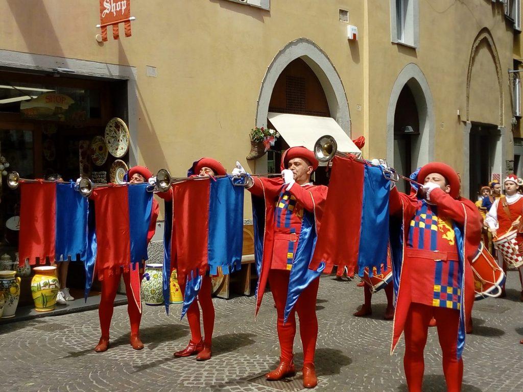 Festa della palombella - Trombe