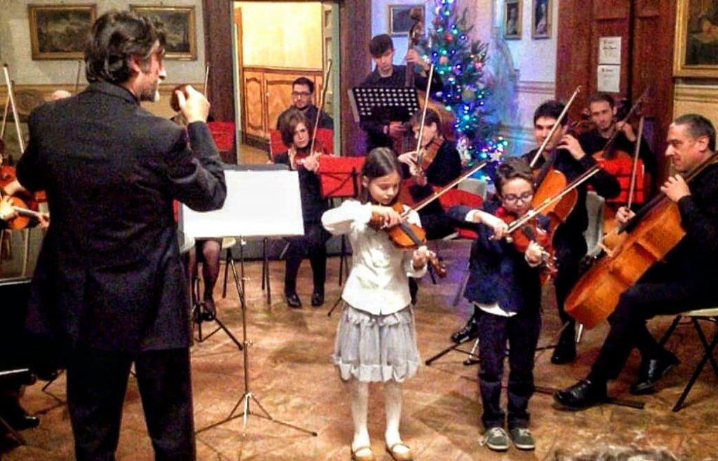 Scuola di musica di Orvieto - concerto natalizio