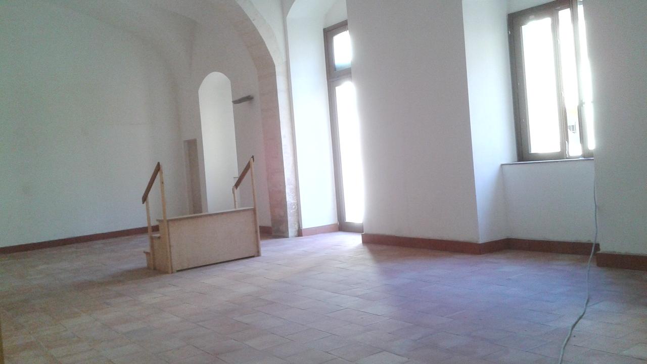 Una delle sale del complesso Vaccaro a Palazzolo Acreide