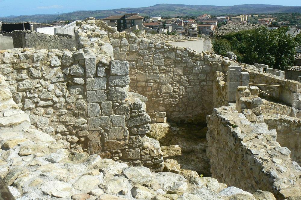 I resti del castello medievale