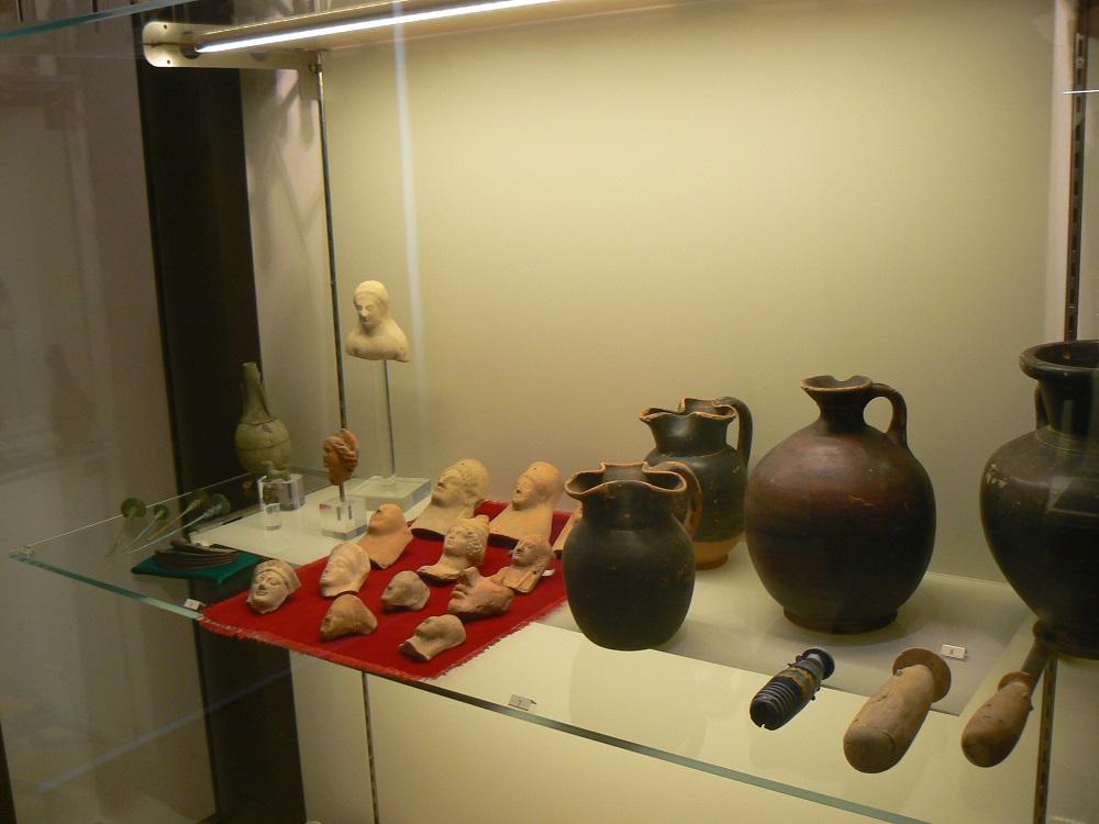 Altri reperti al museo archeologico
