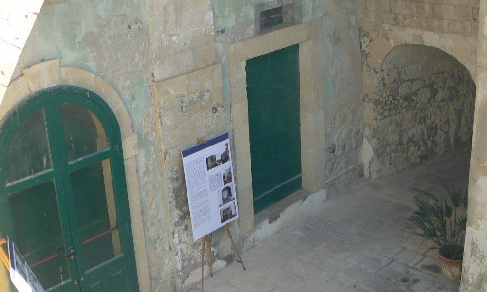 L'ala di palazzo Ferla dove si trova il museo