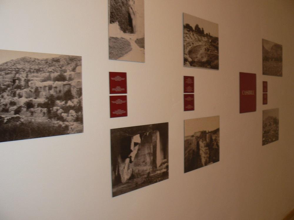Alcune fotografie sulla mostra di Paolo Orsi