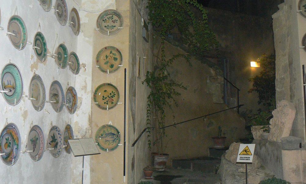 Ingresso della casa museo Antonino Uccello a Palazzolo Acreide