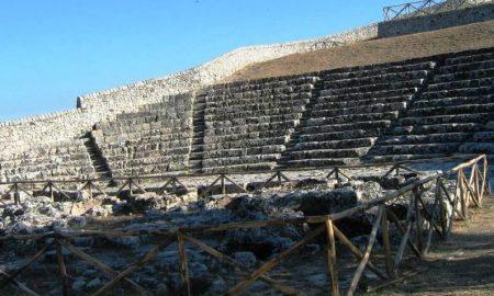 Teatro greco di Akrai a Palazzolo Acreide
