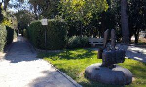 Il viale della villa comunale dedicato a Liistro e agli emigrati