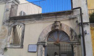 L'ingresso dl centro giovanile di Palazzolo Acreide