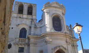 L'esterno della chiesa dell'Immacolata