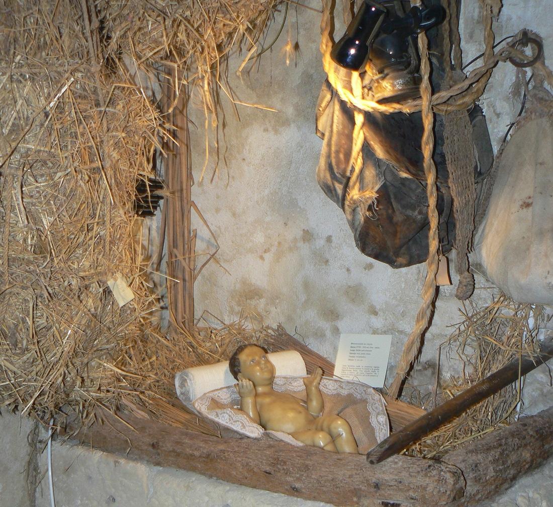 Bambinello in cera Casa museo di Palazzolo