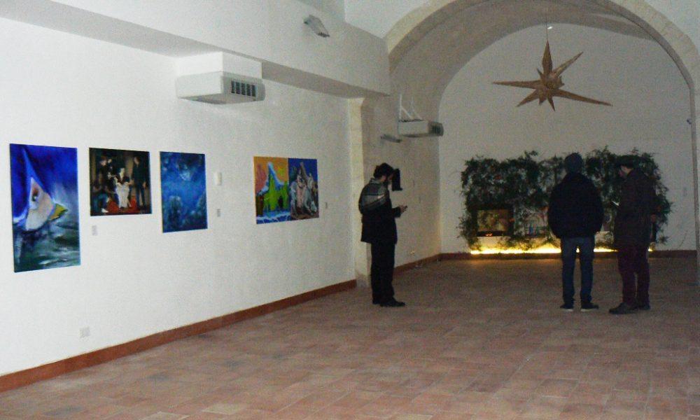 Interno del complesso Vaccaro a Palazzolo Acreide