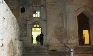 L'ingresso del complesso Vaccaro a Palazzolo Acreide